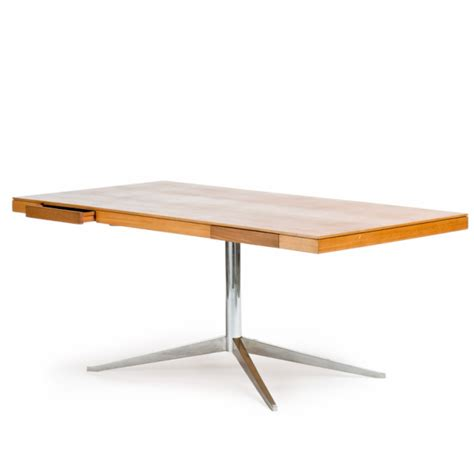 Florence Knoll by Florence Knoll Model 2845 Executive Table Desk Knoll