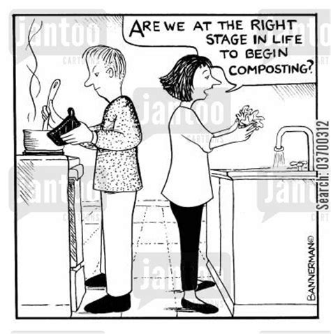 No Rotten Jokes About Compost Awareness Week by Composting Humor From Jantoo