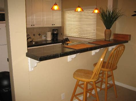 kitchen bars ideas mission bay hideaway 2 kitchen breakfast bar san diego vacation rentals