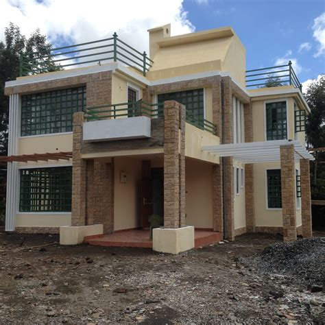 home design plans with photos in kenya the finished house conte 4 bedroom house plan adroit