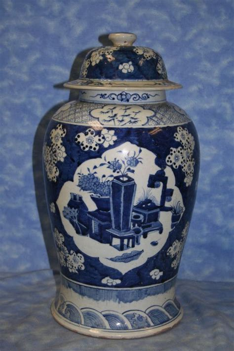 jar ginger antique ginger jar blue and white pinterest