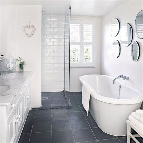 black floor bathroom ideas 25 best ideas about grey white bathrooms on pinterest