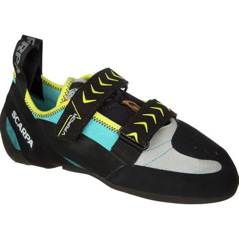 rock climbing shoes scarpa scarpa vapor v womens leather rock climbing shoes