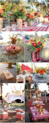 To have an outdoor rustic wedding if so then here are few ideas