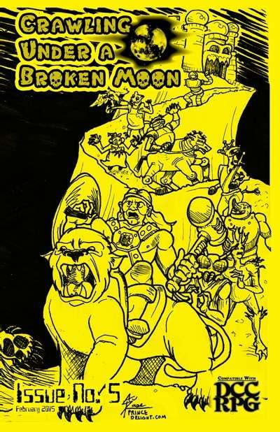 welcome to the darklands trollhunters books crawling a broken moon fanzine issue 5 dcc