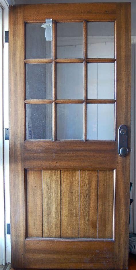 solid oak farmhouse door perfect   screen door
