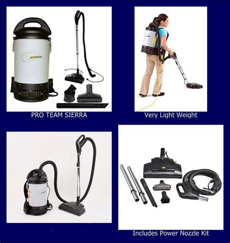 Kenmore Canister Vaccum Proteam Sierra Pv 103242 Backpack Commercial Power Nozzle Kit
