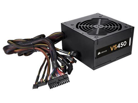 Psu Corsair Vs450 corsair vs450 vs series 450w desktop power supply wootware