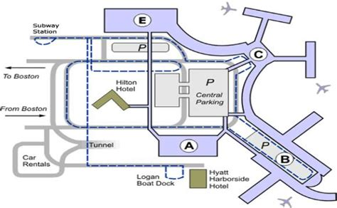 boston logan airport map logan airport terminal c images