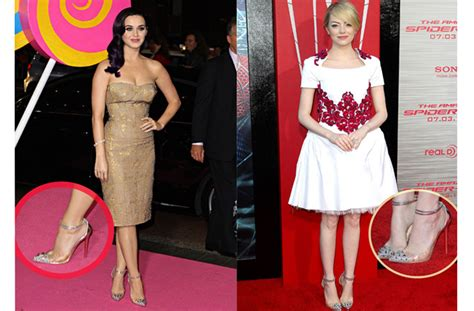 Emma Stone Katy Perry | emma stone katy perry like christian louboutin