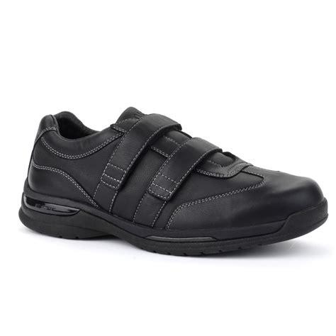 mens comfort shoes oasis shoes mens vincent velco comfort sneakers