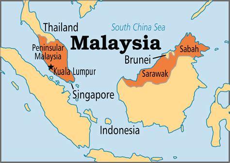 where is malaysia on a world map malaysia operation world