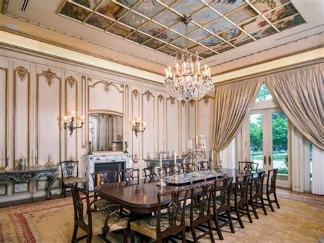 mansion dining room estate of the day 43 million neoclassical mansion in