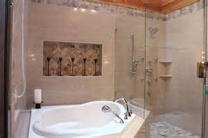 Jet Tubs For Small Bathrooms Corner Soaker Jet Tub Contemporary Bathroom