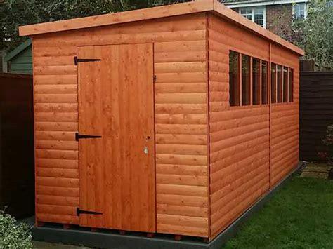 shiplap pent sheds wooden shiplap sheds by tiger sheds