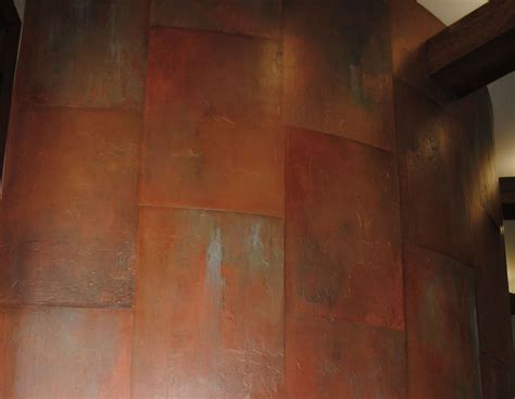 copper wall organic holden art painting