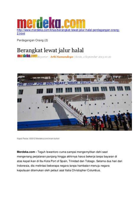 membuat paspor pelaut kliping imam syafii