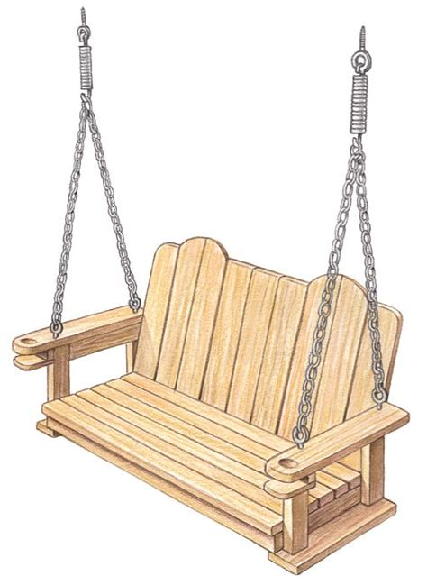 how to build porch swing how to build swings and porches on pinterest