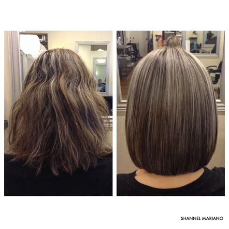 before and after pictures of bob haircuts before and after long layered bob hair cuts pinterest