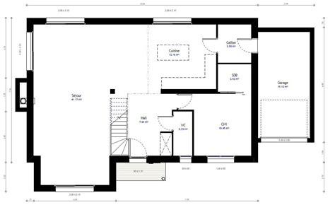 Plan Maison 100m2 Plein Pied Gratuit Que Pensestu De A plan maison en l 100m2 plan maison 3d le plan ju0027ai