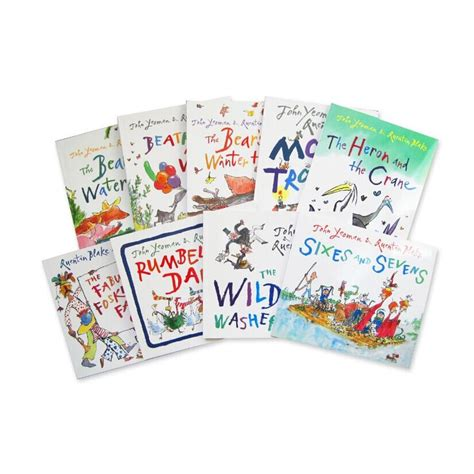 libro quentin blake collection 10 quentin blake collection 10 books 罗尔德达尔御用画家 昆汀布莱克绘本集isbn9781783442522 quentin blake 编著 简介 书评