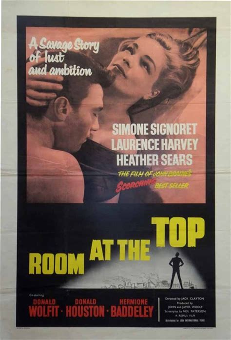 room at the top 1959 room at the top poster uk 1 sheet 1959
