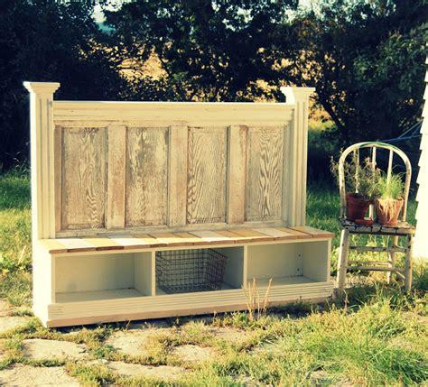 door bench repurposed doors projects using vintage wood doors