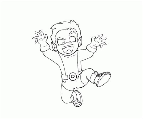 coloring pages beast boy teen titans coloring pages coloring home