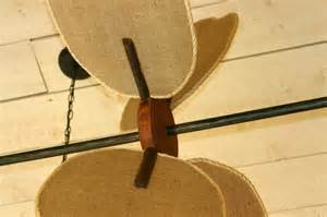 horizontal ceiling fans with paddles bring back a
