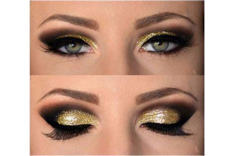 Make Up Za 蝣minkanje u zlatnoj boji intezivan make up za o芻i u par koraka 蠖enski magazin horoskop