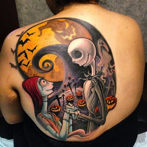 40 cool nightmare before christmas tattoos designs
