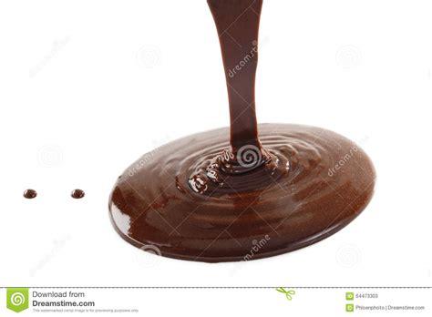 Liquid Chocolate Mr Milt liquid chocolate on a white background stock photo image 64473303
