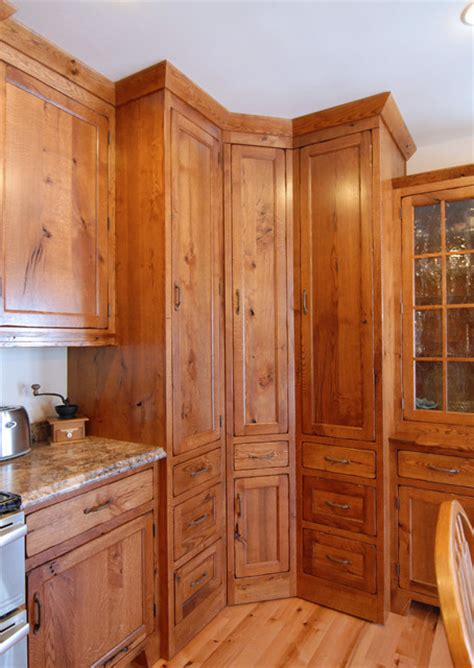 kitchen cabinets corner pantry corner pantry traditional kitchen other metro by crossroads custom cabinetry