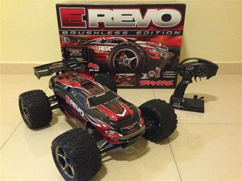 Postep Absolut Revo Original Ahm traxxas e revo 1 10 scale brushless with upgrades r c