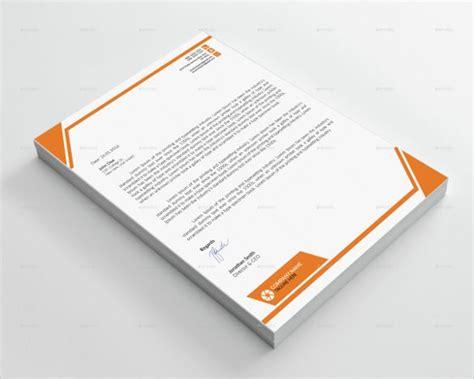 corporate letterhead templates word psd ai