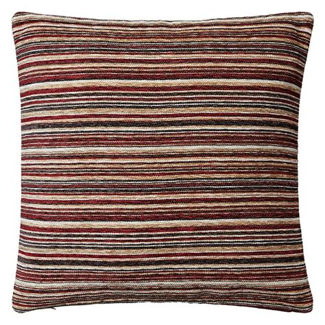 Images Of Livingrooms red chenille stripe cushion john lewis living room