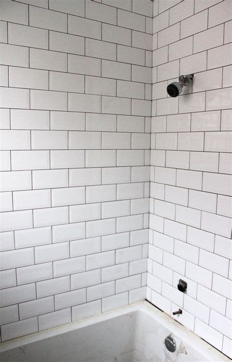 small subway tile white beveled subway tile bathroom bevelled subway tile