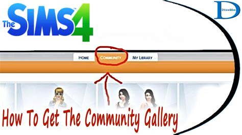 8 Things Id Like To About by How To Get The Community Gallery Tab In The Sims 4