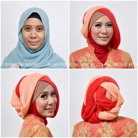 tutorial makeup natural terbaru tutorial hijab pesta vindy 10 tutorial hijab paris segi