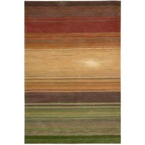 nourison tequila sunrise harvest 8 ft x 10 ft 6 in area