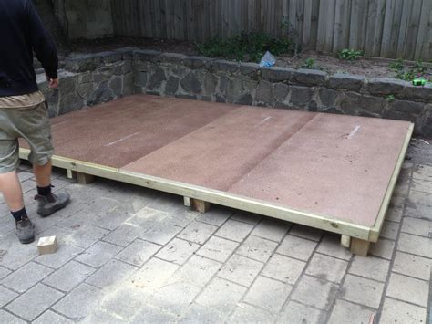 Floor For Garden Shed by Timber Floors