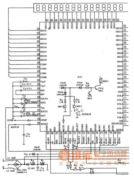 integrated circuit and application index 1739 circuit diagram seekic