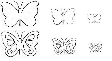 sagome fiori di carta sagome di farfalle per decorare