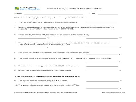 Word Problems Using Scientific Notation Worksheet by Scientific Notation Addition Worksheet 1000 Images About