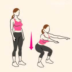 The 30 day squat challenge sara du jour