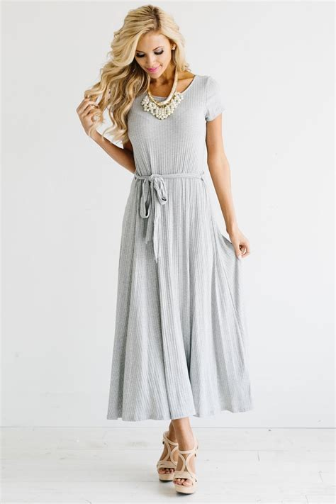 light gray dress light gray casual modest dress east basics modest