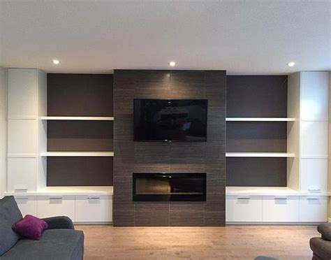 media wall ideas bradwell project media wall and fireplace finished just in