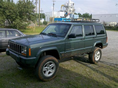 jeep kc roof rack with 4 kc lights jeep forum