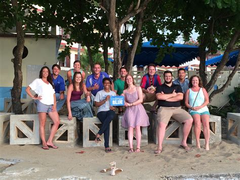 Mtsu Cim Mba by Concrete Industry Study Abroad Builds Reefs