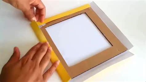 membuat video dari foto dan tulisan cara membuat bingkai foto dari kardus education vidio com